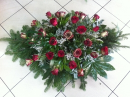 Palma z czerwonej Róży