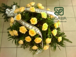Palma pogrzebowa z Róż