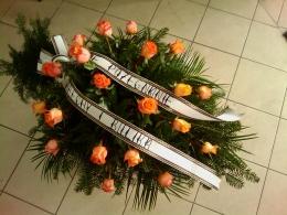 Palma pogrzebowa z Róży herbacianej