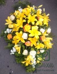 Palma pogrzebowa z Róży i Lilii 2